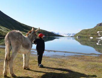 Randonnée au lac Malrif