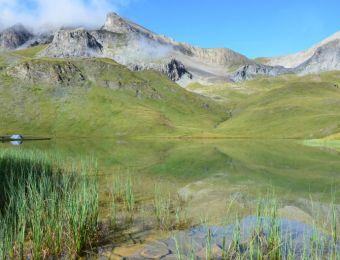 Bivouac au bord d'un lac