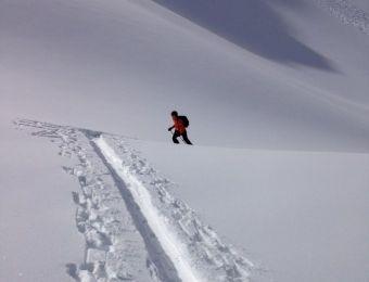 Ski de randonnée dans le massif des Ecrins